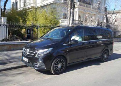 5+1 fős Mercedes V class – luxus kivitel