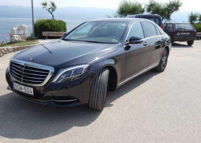 Mercedes S class luxus